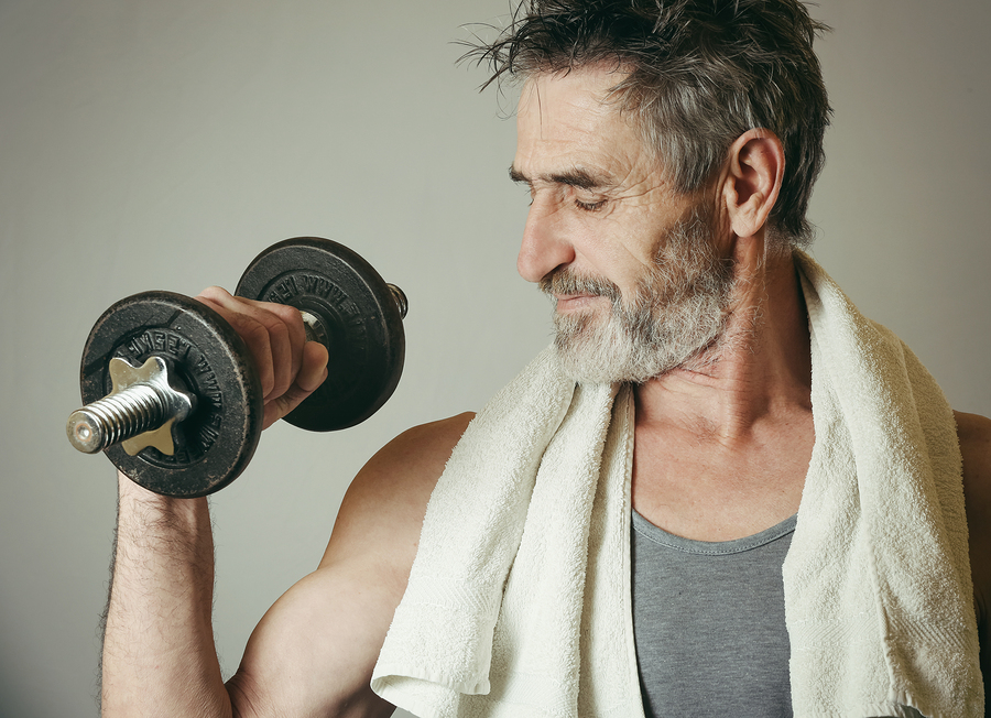 muscle building for older men